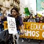 PORTUGAL PROTESTOS DE ESTUDANTES CONTRA OE 2013