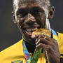 Usain Bolt de ouro, como sempre