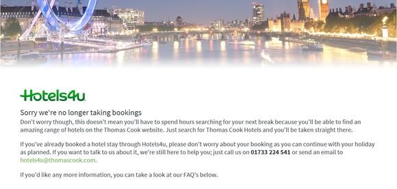 hotels4u shuts down.jpeg
