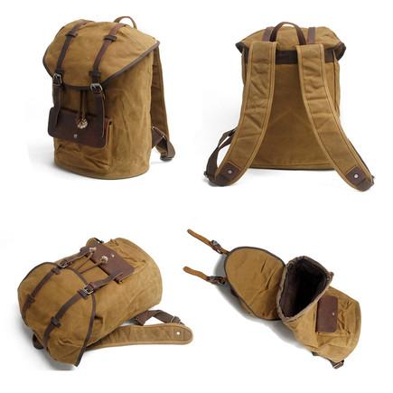 mochilas feminina de lona e couro comprar mochilas