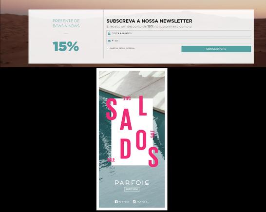 Promo - Registo na Newsletter e tem 15% de desconto na PARFOIS! 18571490_L1gmV