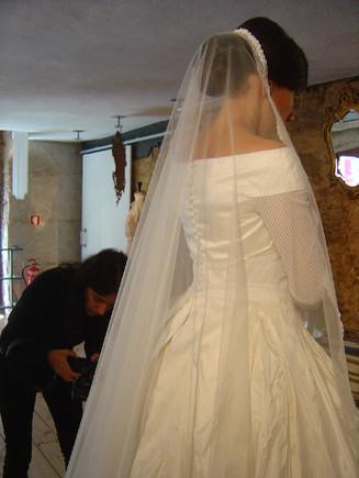 12 02 28 - Renda de bilros - Vestido de Noiva 039.