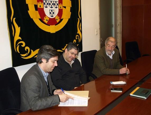 Assinatura Protocolo com ARDAL
