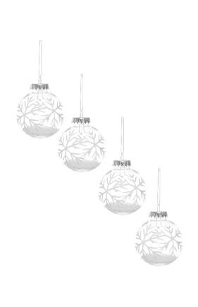 Kimball-1054101- set 4 filled snowflakes, grade f,