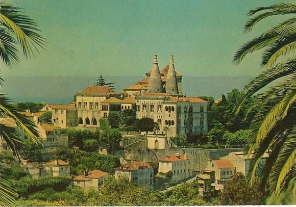 carto-postal-antigo-lisboa-palacio-de-sintra-14714