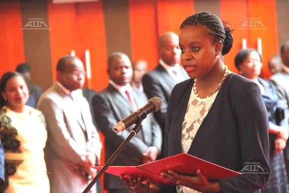Amabelia Chuquela toma posse como Procuradora G...