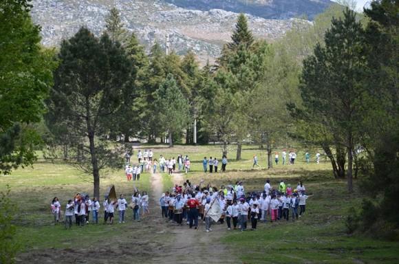 Mais de 800 alunos participaram hoje no Encontro R