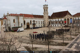 Exército, Marinha e Paraquedistas na cerimónia