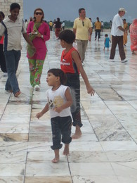 Crianças- Taj Mahal
