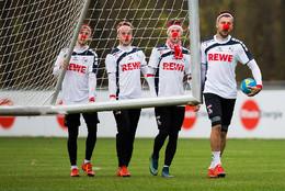 Sessão de treinos do FC Köln, Alemanha
