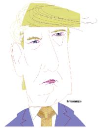 Donald Trump_caricatura