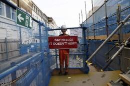 Estaleiro obras Paddington, Londres, Inglaterra