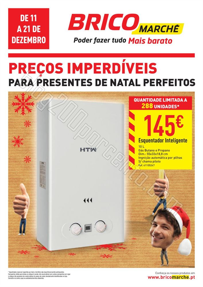 Antevisão Folheto BRICOMARCHÉ Presentes Natal de