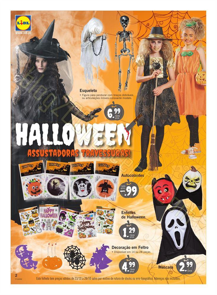 Antevisão Folheto LIDL Halloween a partir de 23 o