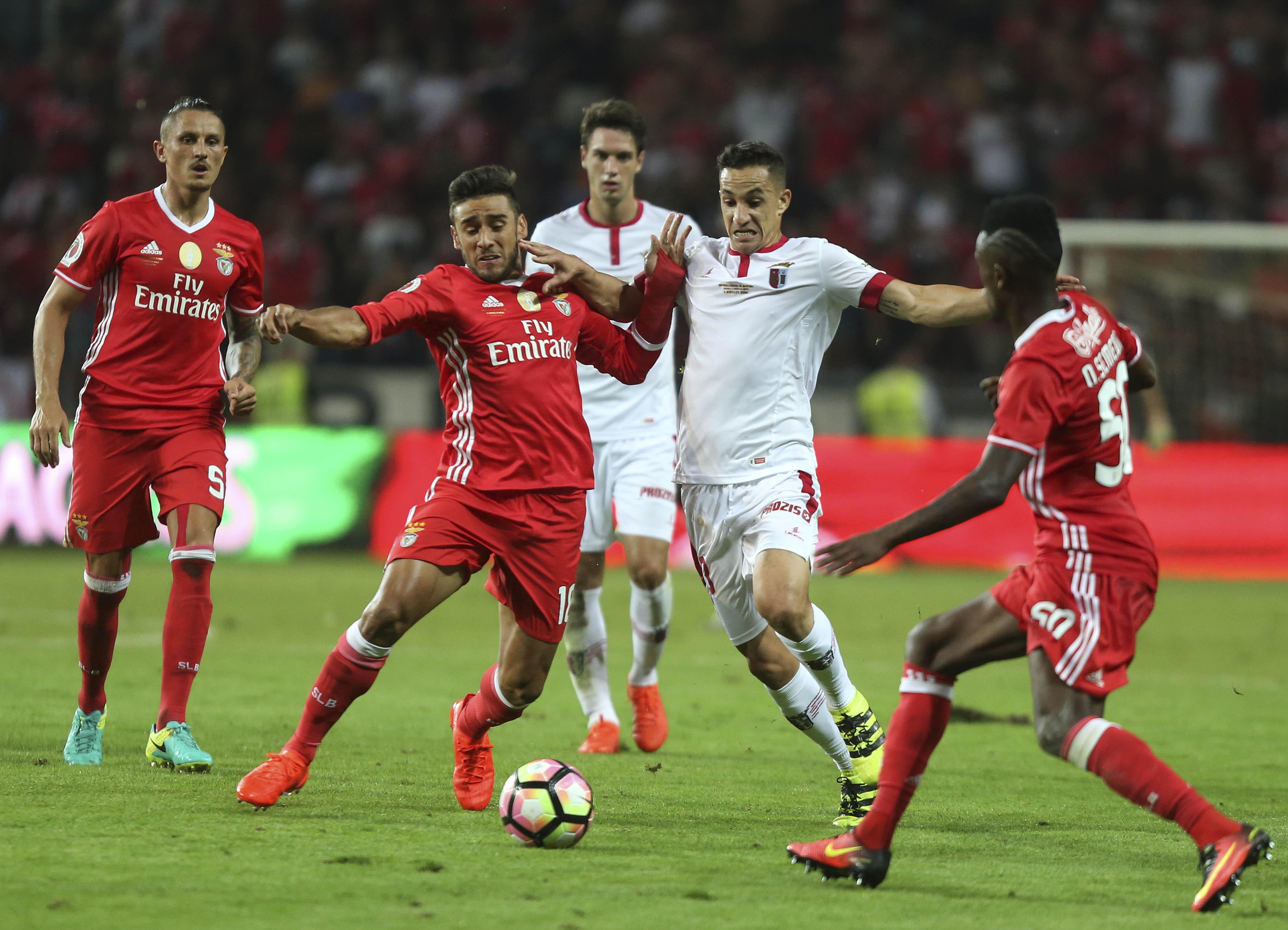 """Resultado Benfica Hoje: Luisão: """"Benfica De Hoje Tem Uma Chama Para Conquistar O"""