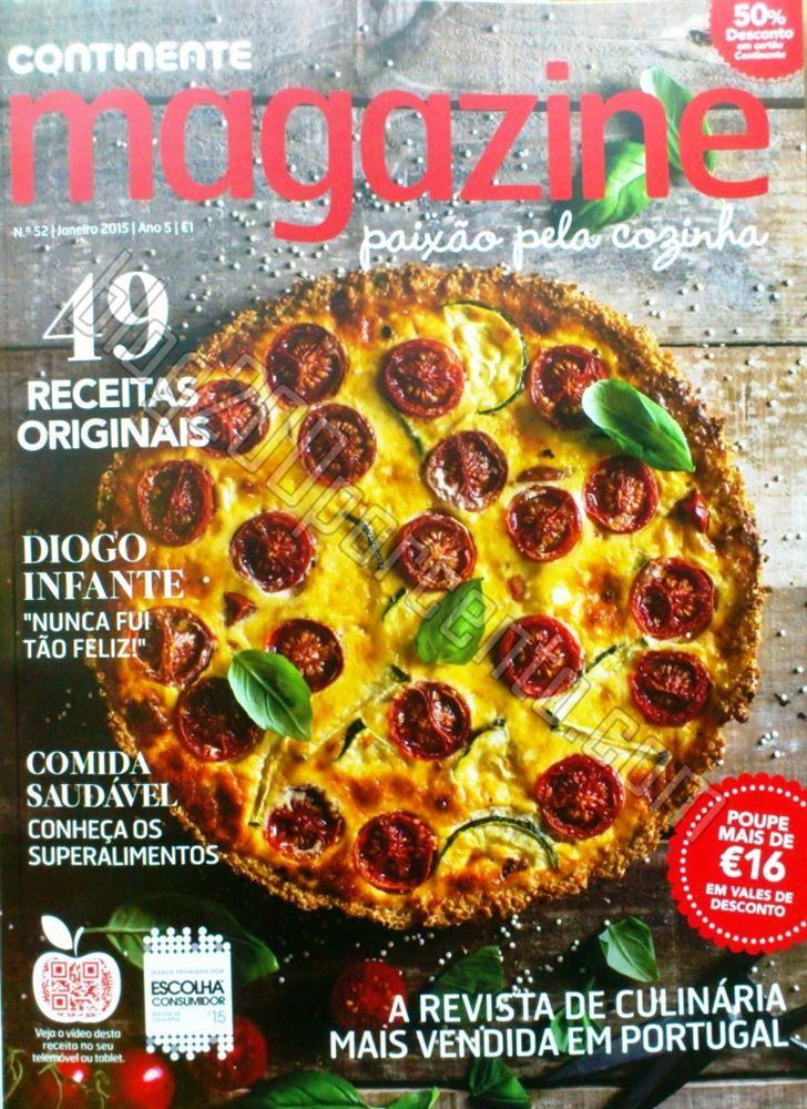 Antevisão de cupões CONTINENTE Magazine de janei