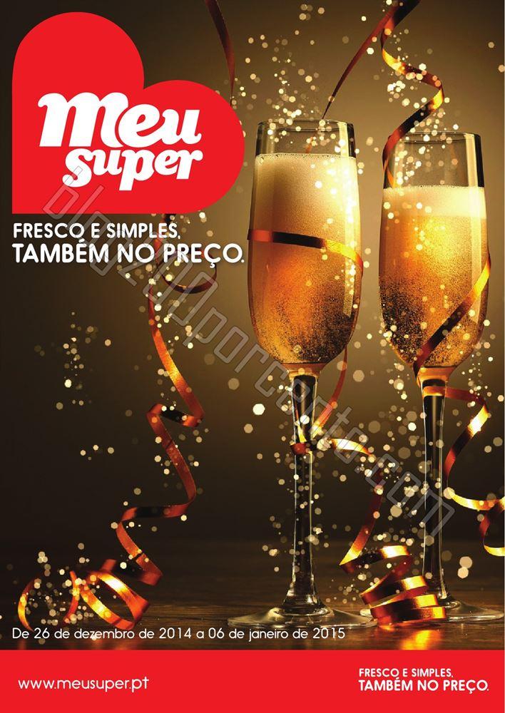 Novo Folheto MEU SUPER Promoções até 6 janeiro