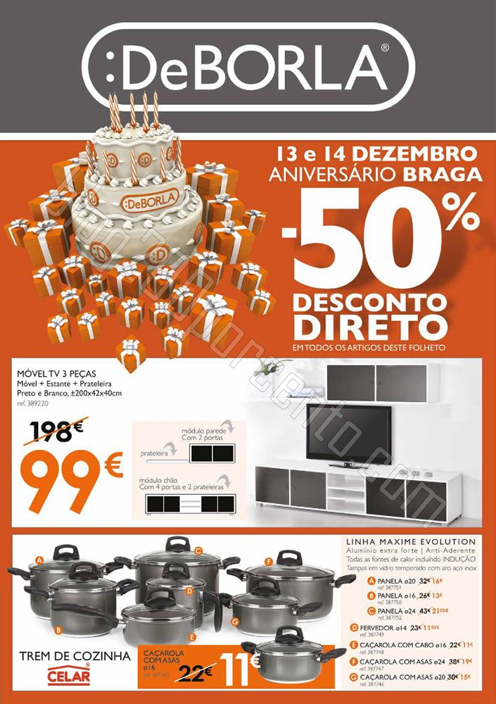 Antevisão Folheto DEBORLA Braga de 13 a 14 dezemb