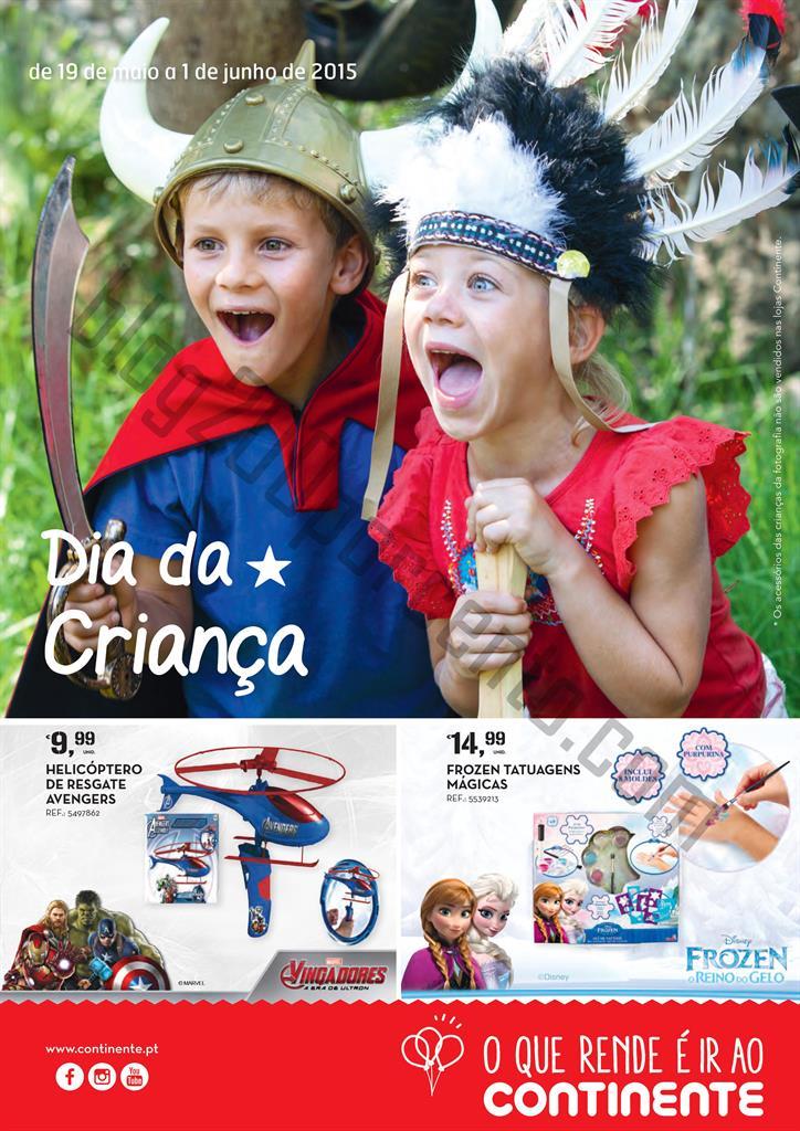 Antevisão Folheto CONTINENTE Especial Criança de