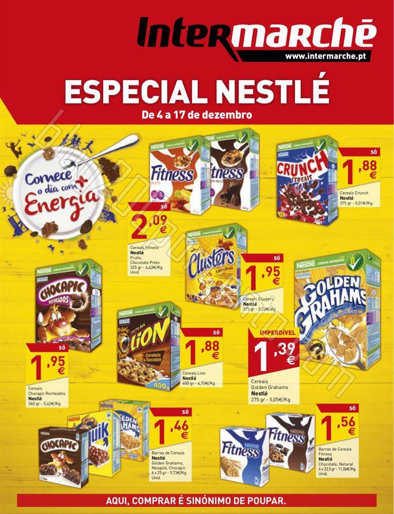 Antevisão Folheto INTERMARCHÉ Nestlé de 4 a 17