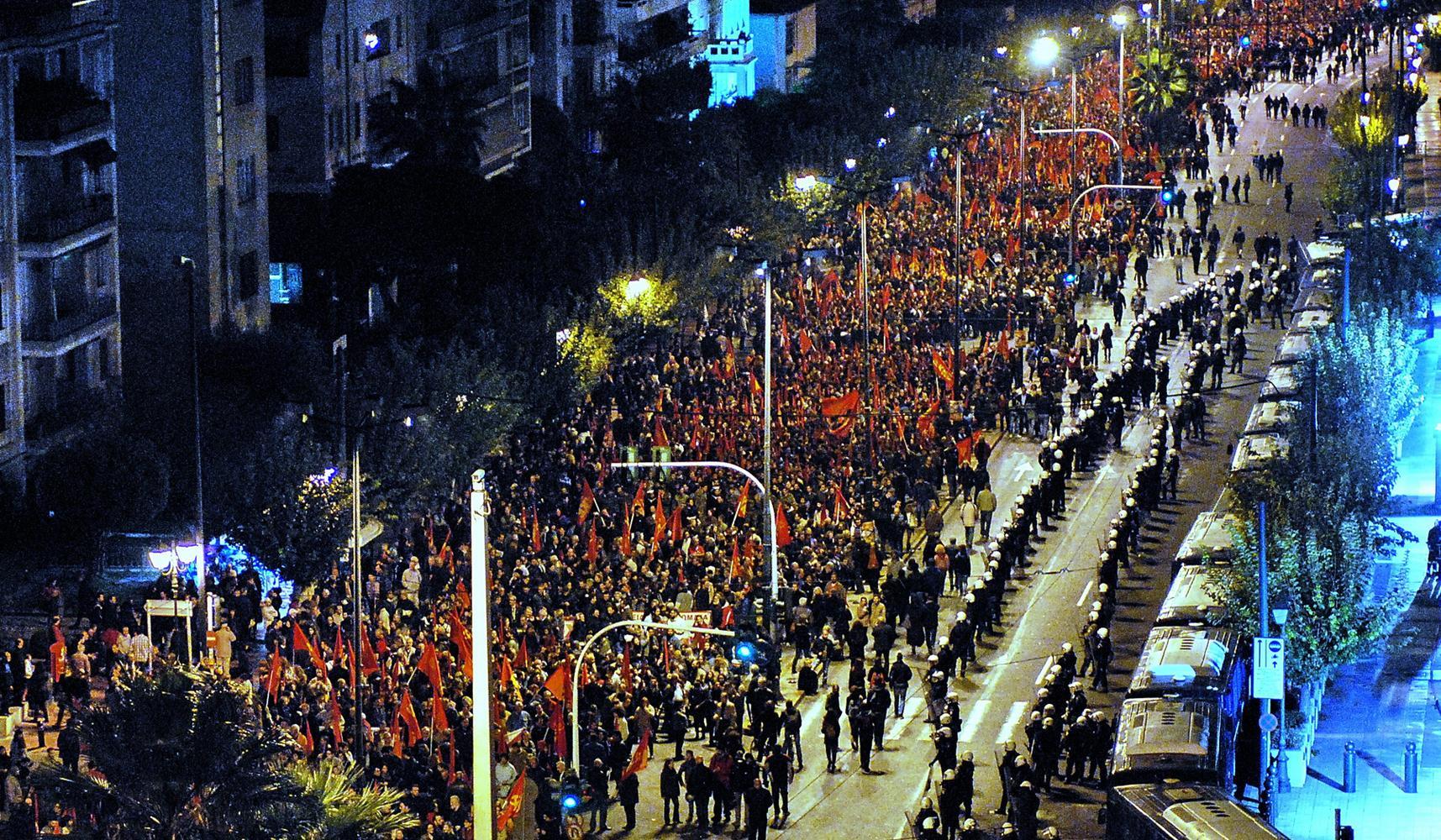 Manifestação KKE 2012-11-17