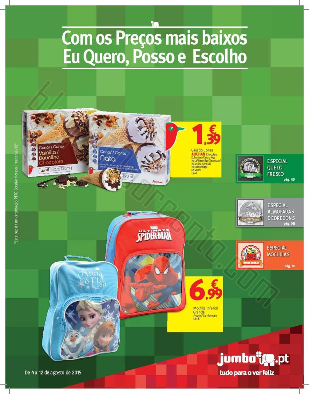 Antevisão Folheto JUMBO Promoções de 4 a 12 ago