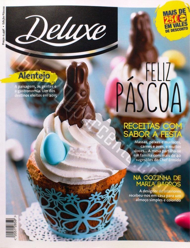 Nova Revista DELUXE - LIDL Edição Páscoa com 25