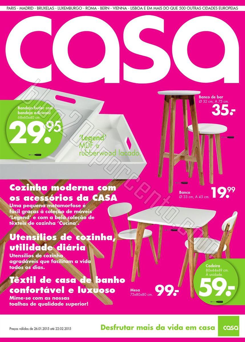 Novo Folheto Lojas CASA Promoções até 22 fevere